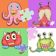 Activities of Cute Monster Jigsaw Puzzle