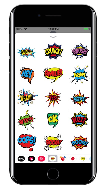 Comics Bubbles - WOW pack