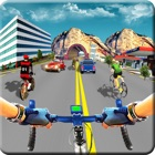 In Bicycle Racing on Highway icon