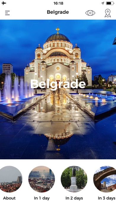 Belgrade Travel Guide Offline screenshot one