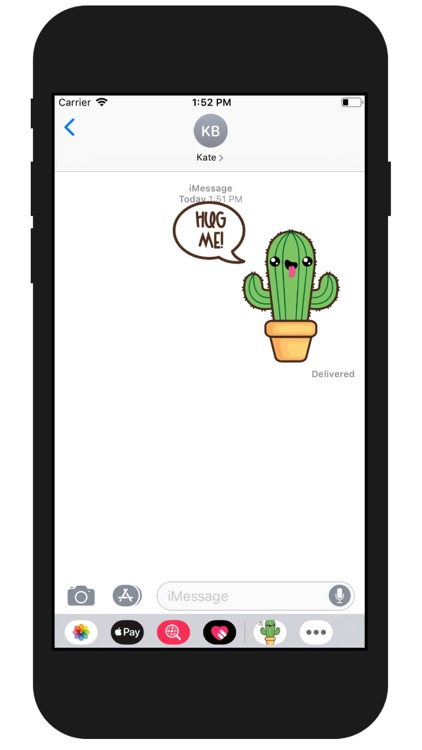 Kawaii Cactus Stickers