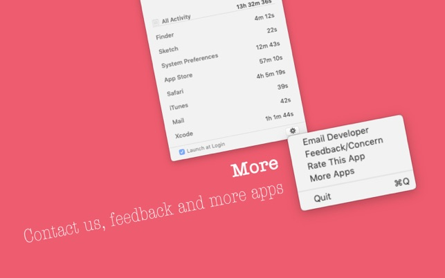 Timer Tracker on the MacAppStore