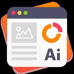 Ícone do app GN Infographics for Adobe Illustrator - Templates