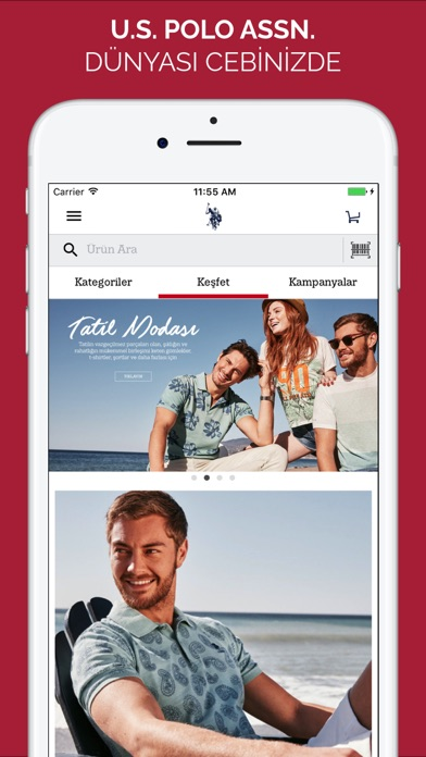 Screenshot for U.S. Polo Assn. in Turkey App Store