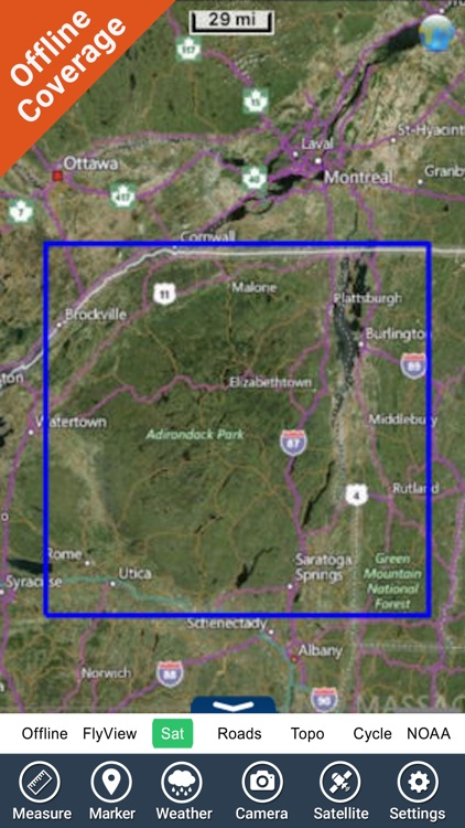 Adirondack State Park gps outdoor map with Guide screenshot-4