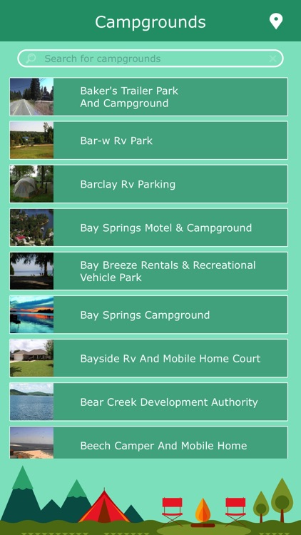 Alabama Campgrounds & Parks