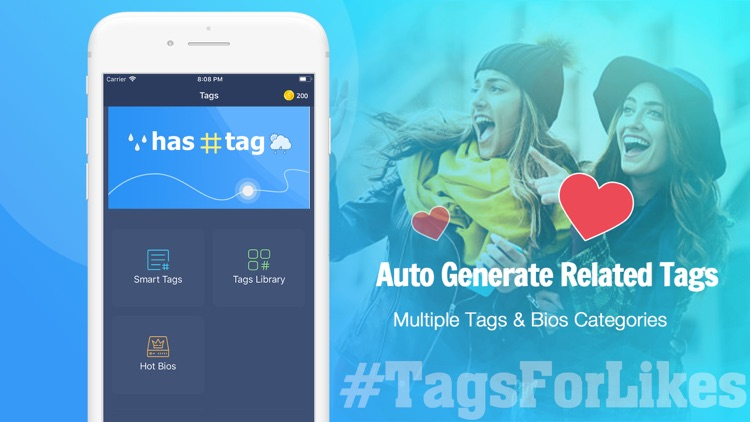 Boost Mega Likes With Hot Tags screenshot-1