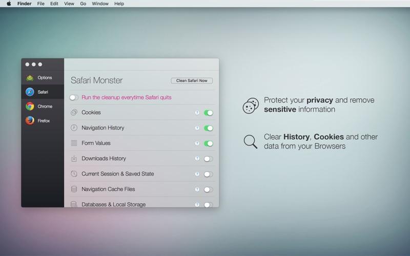 Browser Monster скриншот программы 2