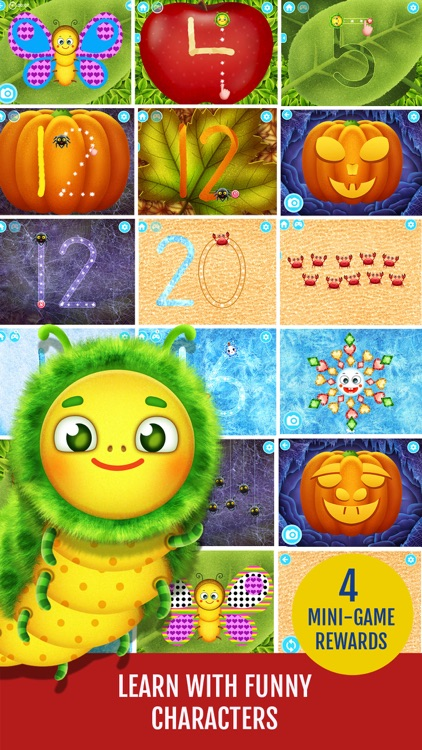 Yum-Yum Numbers: counting and tracing 123 for kids screenshot-4