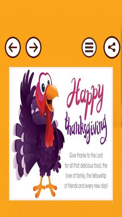 Happy Thanksgiving Day Cards screenshot three