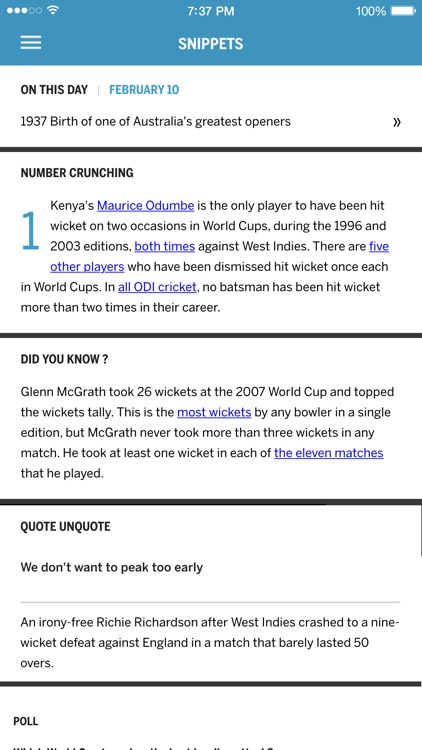 ESPNcricinfo Cricket screenshot-4