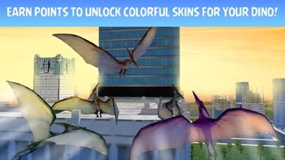 Pterodactyl Dino City Attack Simulator 3D screenshot four