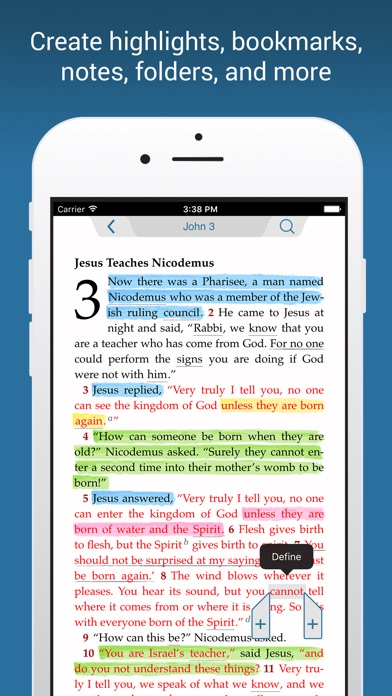 Niv Bible review screenshots