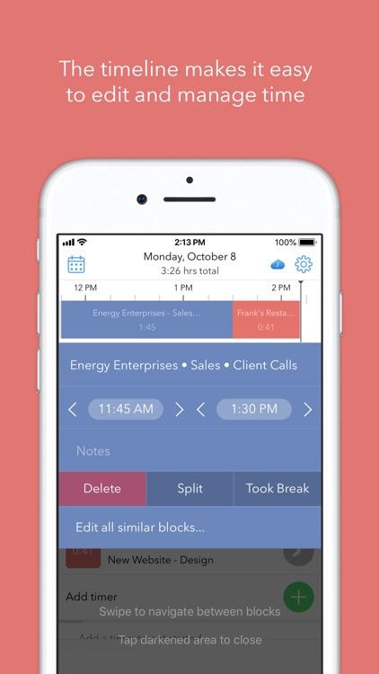 Hours Time Tracking screenshot-6