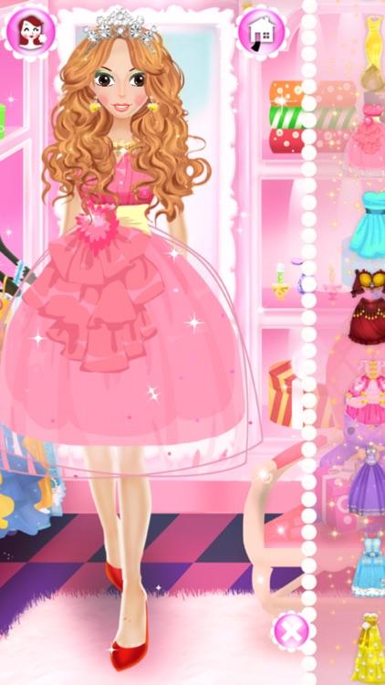 Dress Up Games for Girls Salon screenshot-4