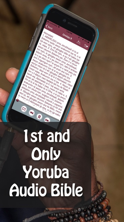 Yoruba Audio Bible screenshot-0