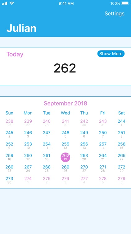 Julian - Quick Dates