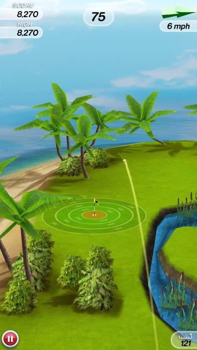 Flick Golf! screenshot1