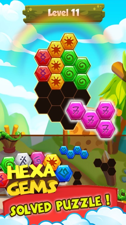 Hexa Rune Gems screenshot-2