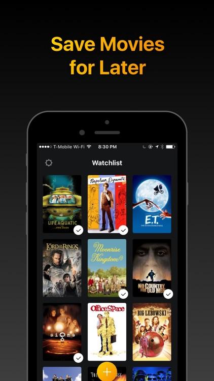 Watchlist - Movies & TV Shows screenshot-0