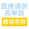 医療通訳英単語 器官名称編 - iPhoneアプリ