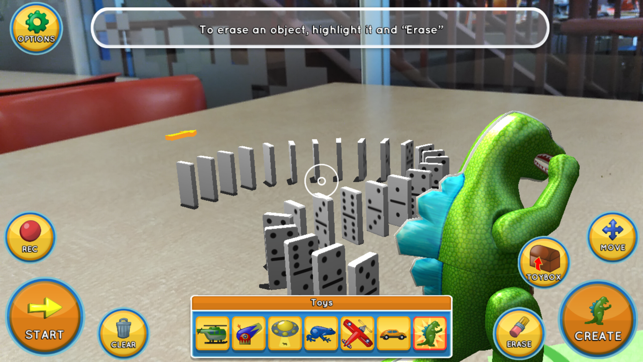 Domino World AR Screenshot