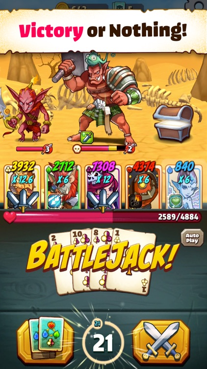 Battlejack: Blackjack RPG screenshot-0