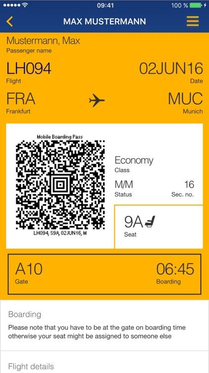 Lufthansa screenshot-3