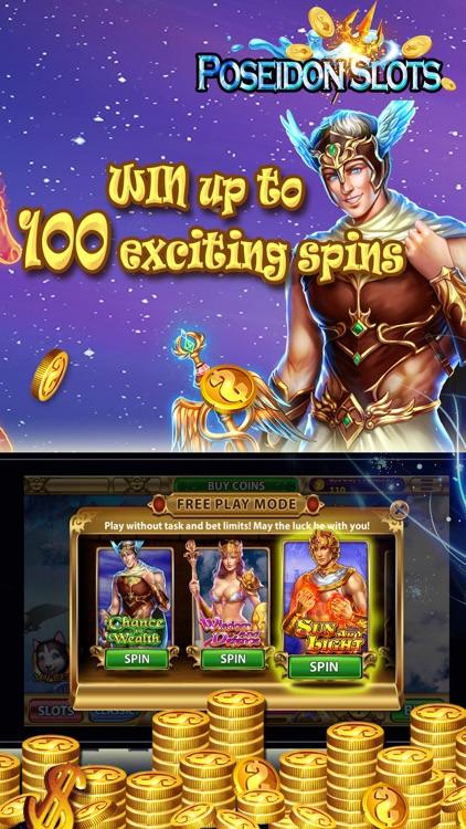 Poseidon Slots - luxury Casino screenshot-4