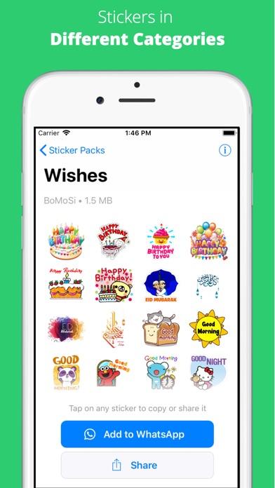 WhatStickers - Stickers screenshot 3