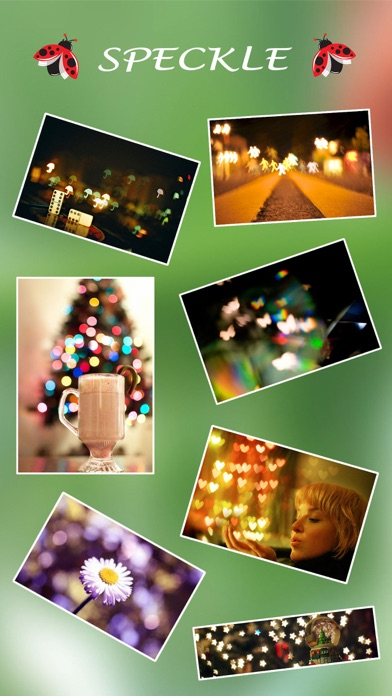 Screenshot #1 pour Speckle - Lens bokeh