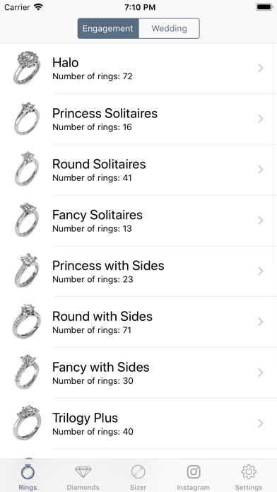 Engagement Rings screenshot one