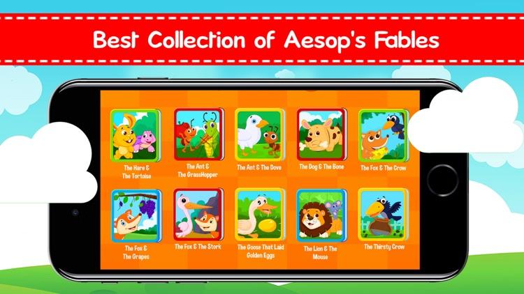 Aesop Fables: Children Stories screenshot-0