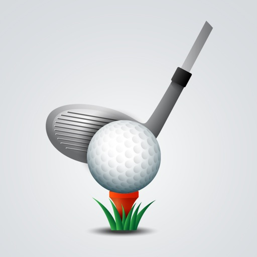 Golf Swings Retro Stickers
