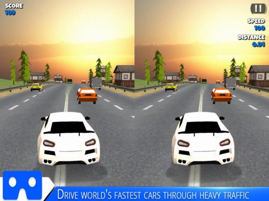 VR Racing Car Highway screenshot 6