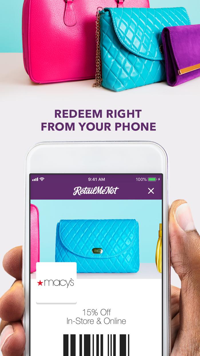 RetailMeNot: Coupons & Savings Screenshot