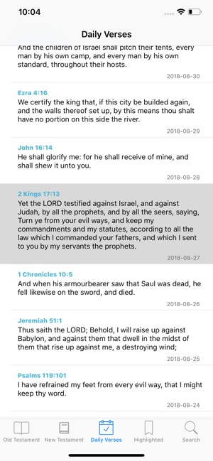 K J V  Holy Bible on the App Store