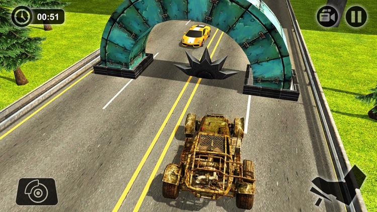 Speed Bump Car Crash Simulator