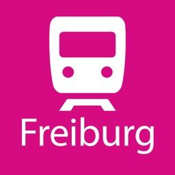 Freiburg Rail Map Lite