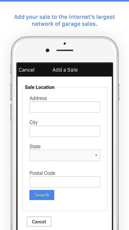 Garage Sale Map - gsalr.com screenshot-3