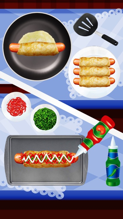 Hot Dog Maker 2017 – Fast Food Cooking Games Delux screenshot four