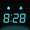 桌面時鐘 - 全屏電子時鐘,報時鬧鐘
