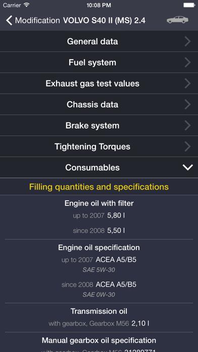TechApp for Volvo Screenshot