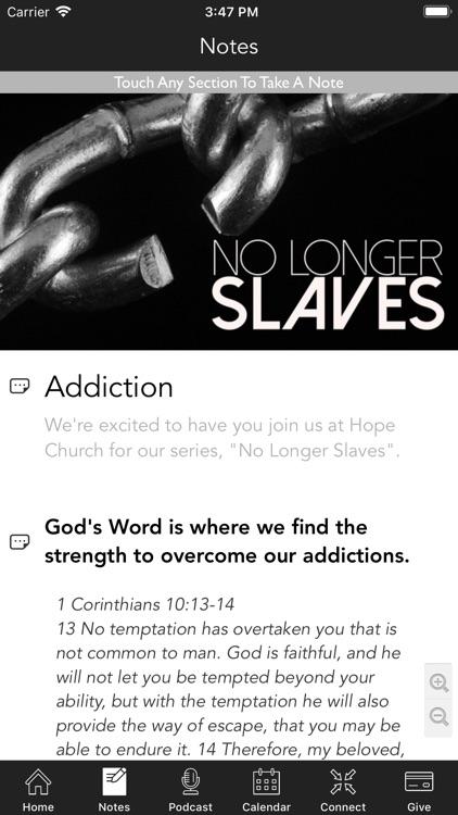 Hope Church   Cleburne screenshot-3