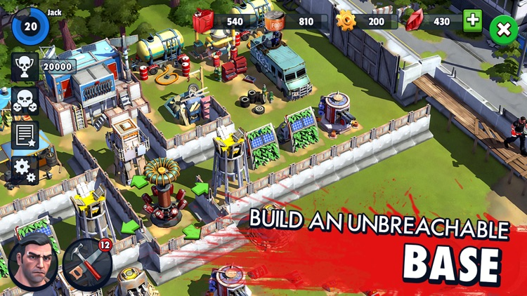 Zombie Anarchy: Survival Strategy Game screenshot-4
