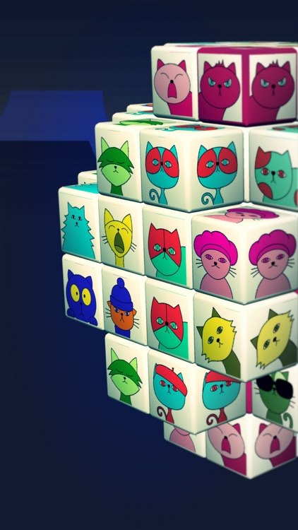 Angry Cat Mahjong Puzzle Game