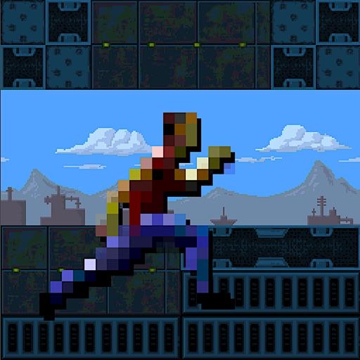 Pixel Runner - Running Man