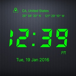 Ticking Digital Clock