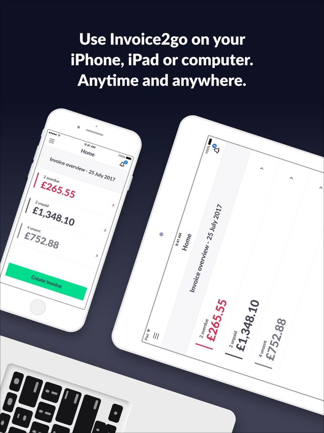 Invoice Go Invoice Quotes On The App Store - Blank plumbing invoice free online store credit cards guaranteed approval