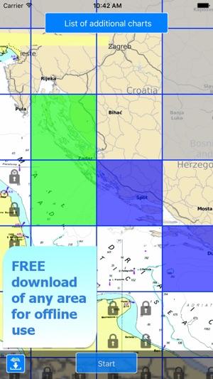 Aqua Map Croatia Nautical GPS on the App Store